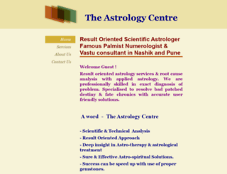 astrologycentre.in screenshot