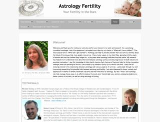 astrologyfertility.com screenshot