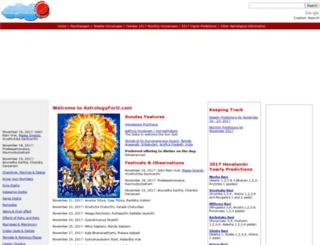 astrologyforu.com screenshot