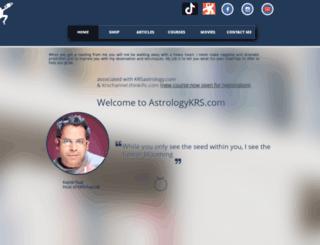 astrologykrs.com screenshot