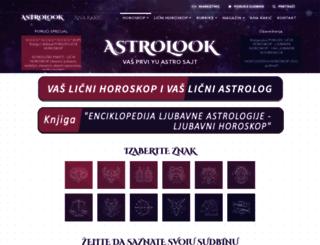 astrolook.com screenshot