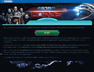 astrolords.bisbog.com screenshot