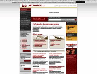 astroman.com.pl screenshot