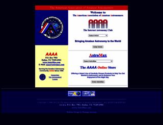 astromax.com screenshot