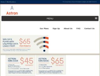 astron.net.au screenshot