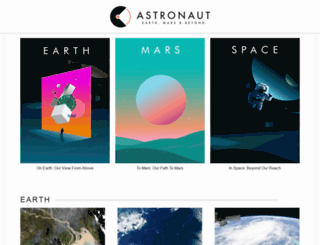 astronaut.com screenshot
