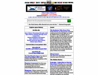 astronautix.com screenshot