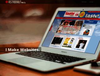 astronautweb.co screenshot