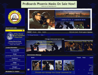 astronomer.proboards.com screenshot