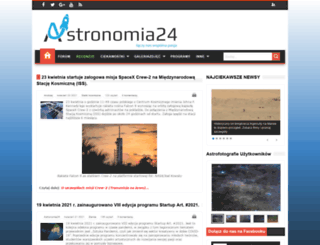 astronomia24.com screenshot