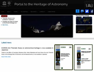 astronomicalheritage.net screenshot