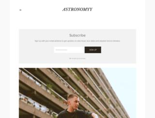 astronomyy.co screenshot