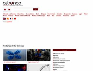 astronoo.com screenshot