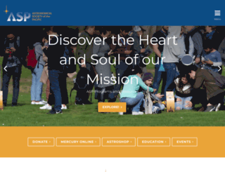 astrosociety.org screenshot