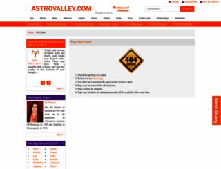 astrovalley.com screenshot