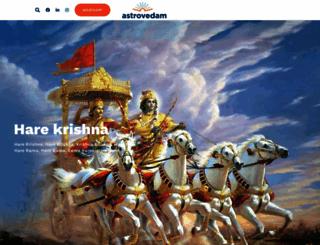 astrovedam.com screenshot