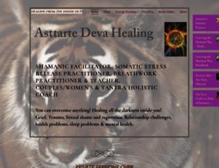 asttartedeva.com screenshot