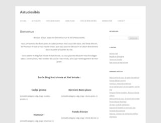 astuciosites.fr screenshot