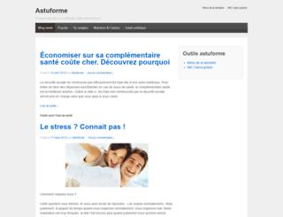 astuforme.com screenshot