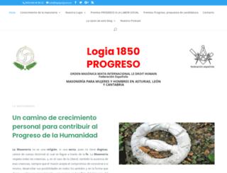 asturmasoneria.org screenshot