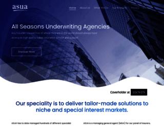 asua.co.uk screenshot
