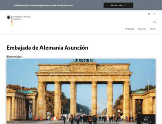 asuncion.diplo.de screenshot