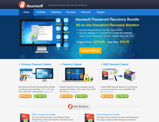 asunsoft.com screenshot