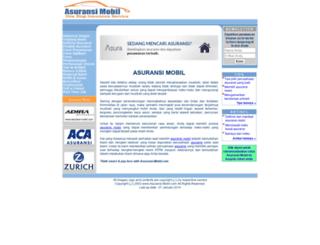 asuransi-mobil.com screenshot