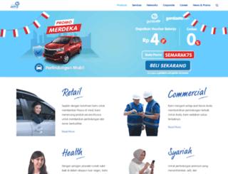 asuransi.astra.co.id screenshot