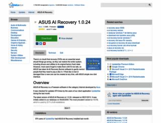 asus-ai-recovery.updatestar.com screenshot