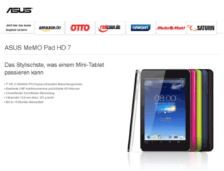 asus-memopad.de screenshot