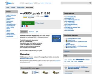 asus-update.updatestar.com screenshot