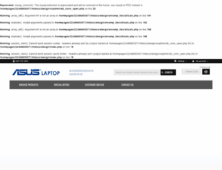 asuslaptop.co.uk screenshot