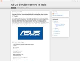 asusservicecenters.blogspot.in screenshot