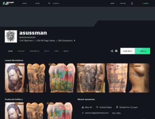 asussman.deviantart.com screenshot
