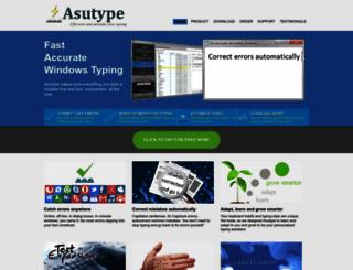 asutype.com screenshot