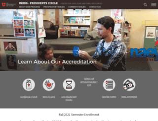 asuuchildcare.utah.edu screenshot