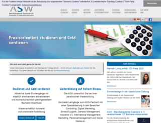 asw-berufsakademie.de screenshot