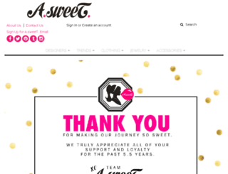 asweetonline.com screenshot