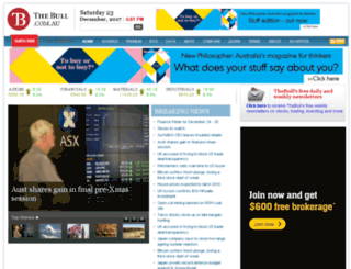asx.thebull.com.au screenshot