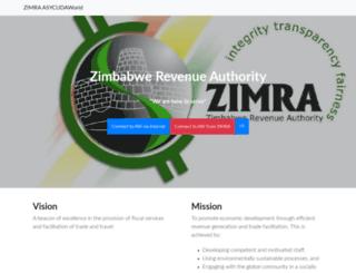asy.zimra.co.zw screenshot