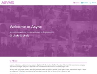 asyncjs.com screenshot