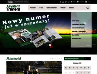 asystent-trenera.pl screenshot