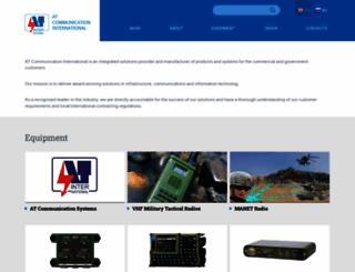 at-communication.com screenshot