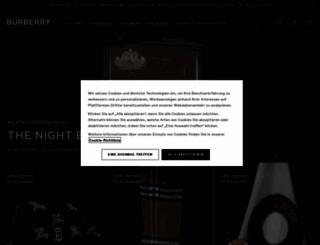 at.burberry.com screenshot