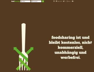 at.myfoodsharing.org screenshot