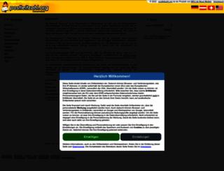 at.postleitzahl.org screenshot