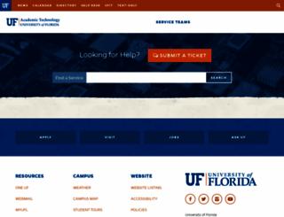 at.ufl.edu screenshot