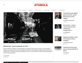 atabula.fr screenshot