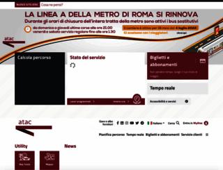 atac.roma.it screenshot